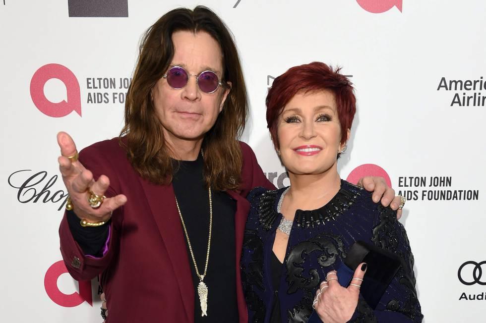 Ozzy y Sharon Osbourne, en un