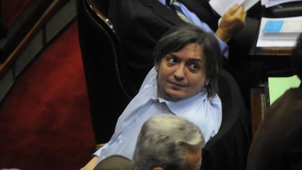 Máximo Kirchner fotos: juan jose traverso