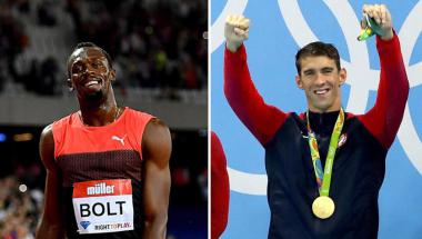 Usain Bolt y Michael Phelps están por retirarse tras los Olímpicos de Río 2016, dejando un gran espacio para llenar por parte de otros atletas.  (Foto: Getty Images)
