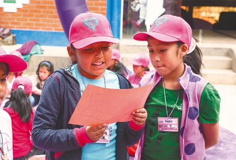 TESTIMONIOS. Más de 7.000 niñas ya fueron empoderadas sobre autoestima, derechos, plan de vida y toma de decisiones