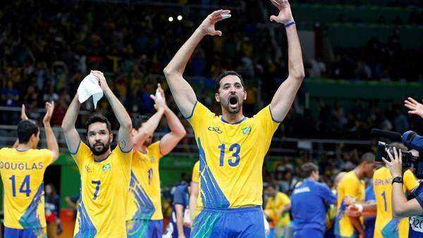 Los brasileños serán un duro rival para Argentina en cuartos de final. (EFE)
