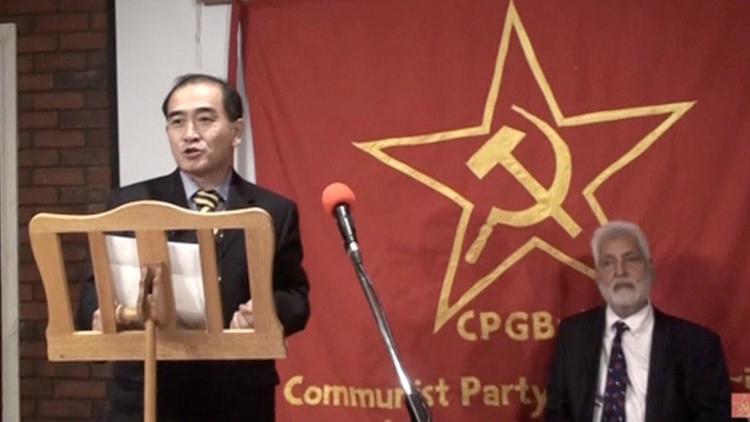 El diplomático Thae Yong-ho durante un evento público