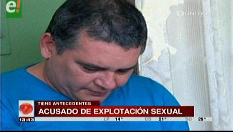 Exreo acusado de explotar sexualmente a menor de edad