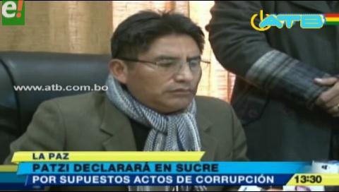 Félix Patzi es citado a declarar en Sucre