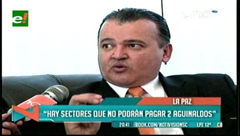 CEPB: Habrá muchos sectores que no podrán pagar el doble aguinaldo