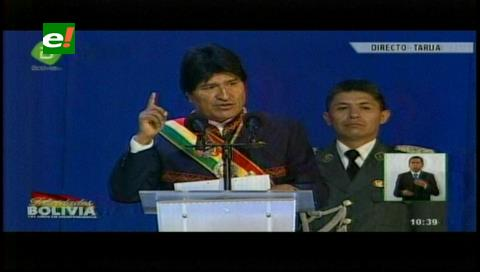 Mensaje presidencial: Morales habló sobre economía, justicia y la relación con Chile