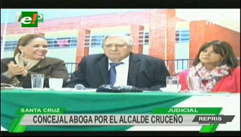 Caso dron: Concejal Sanjinéz dice que Percy no puede viajar a La Paz por temas de salud