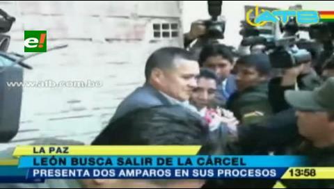 Eduardo León presentará dos amparos constitucionales para salir libre