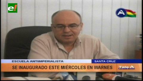 Ferreira: Escuela Antiimperialista será inaugurada por el presidente este miércoles