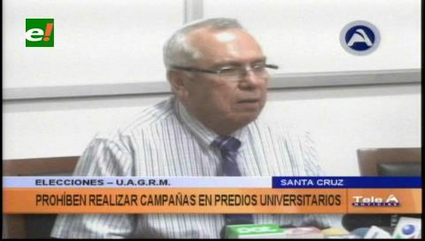 CEP organiza elecciones en la Uagrm: Prohibido las campañas en predios universitarios