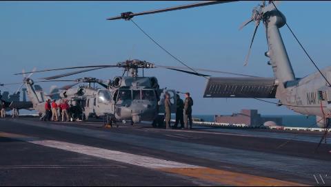 Aviones de guerra electrónica de EEUU contra el Estado Islámico