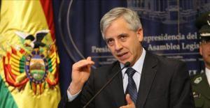 Vicepresidente Álvaro García Linera dio una conferencia de prensa