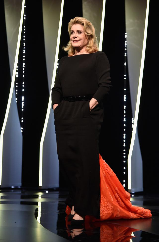 Deneuve, protagonista de la ceremonia de apertura del pasado Festival de Cannes.