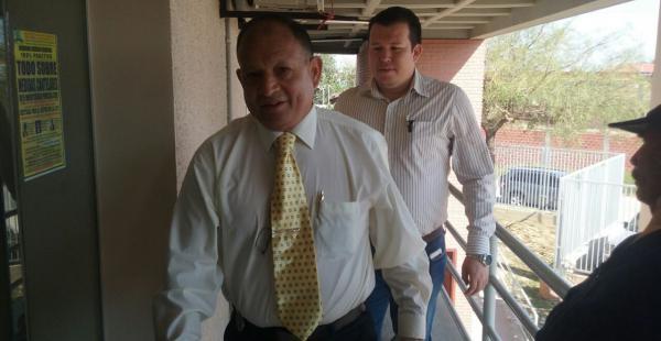 Róger Guzmán, presidente de la Corte Electoral de la Uagrm