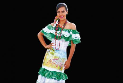 Representante de Buen Retiro. Lili Rivero, 20 años