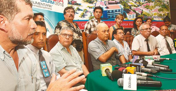 El defensor del pueblo Jorge Paz, los candidatos, el rector y el titular de la corte piden paz para votar