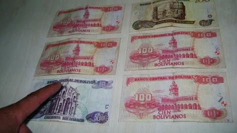 Billetes falsificados. Foto: Archivo