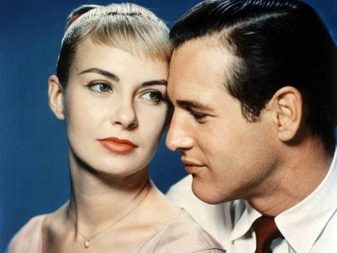 """Paul Newman:  """"Si tengo un solomillo en casa, ¿por qué debería ir fuera a por una hamburguesa?"""". Paul Newman, el inventor del piropo grasiento. Junto a Joanne Woodward (los dos en la foto) formaron una de las parejas más estables de Hollywood. Compartieron 50 años de feliz matrimonio, hasta el fallecimiento de la actriz en 2008. Todos lloramos..."""