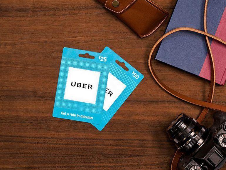 Resultado de imagen para Uber lanza tarjetas de regalo disponibles en Walmart, CVS y Target