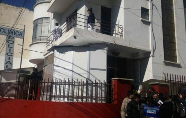 Excomandante de la Policía de La Paz, que debía declarar ante la fiscalía, es internado por hipertensión
