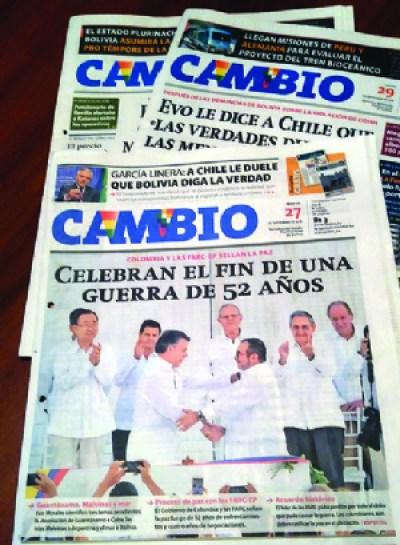 Tribunal emitió cinco fallos contra el diario Cambio