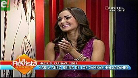 Cambas Holgazanes presentan a su reina del carnaval