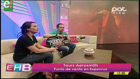 Puedes conseguir tus entradas para Aerosmith en Expocruz 2016