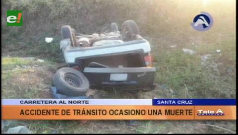 Joven muere en accidente de tránsito a dos kilómetros de Montero