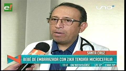 Posible caso de bebé con microcefalia debido al zika en Santa Cruz