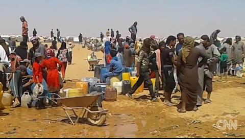 Los refugiados más ignorados por el mundo graban videos de su agonía