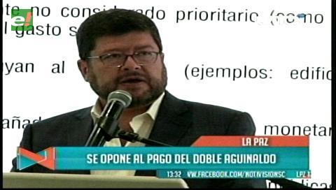 Samuel propone eliminar doble aguinaldo y presenta 70 sugerencias económicas al Gobierno