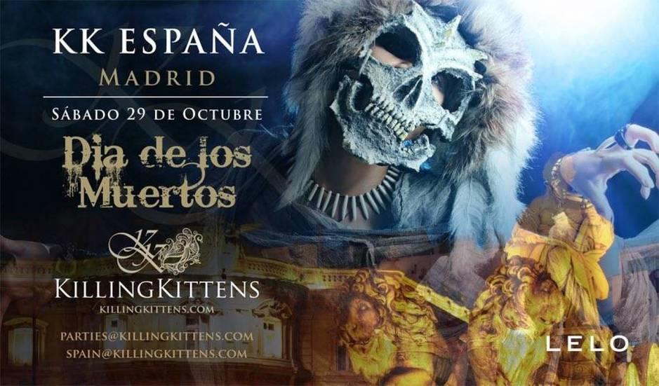 Otro cartel de la próxima cita en Madrid el 29 de octubre