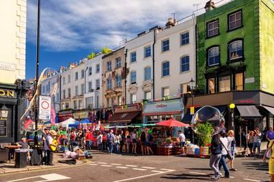 Notting Hill y Portobello Road, Londres