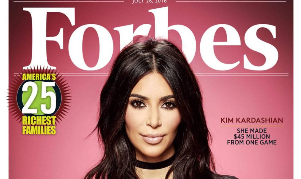 Kim Kardashian, portada del número de julio de la revista