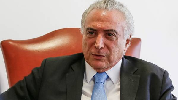 Entrevista al Presidente Michel Temer. (Presidencia)