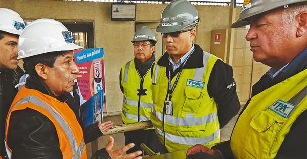 En julio, el canciller Choquehuanca visitó el puerto de Arica, en Chile