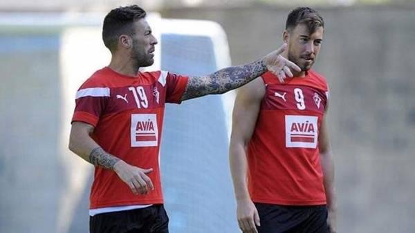 Sergi Enrich y Antonio Luna, los dos jugadores involucrados en un escándalo sexual.