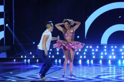 showmatch 2016 Marcelo Tinelli Iliana Calabro