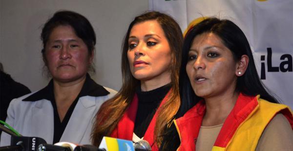 Soledad Chapetón ve una conspiración orquestada por el Ministerio de Gobierno