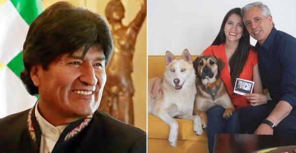 El presidente Evo Morales felicitó al