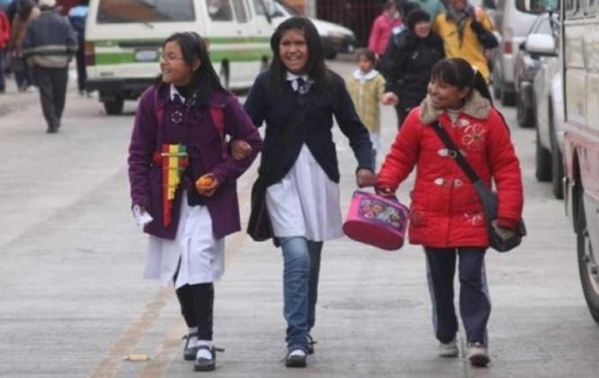 Las clases finalizarán el 30 de noviembre excepto en La Paz, Oruro y Potosí