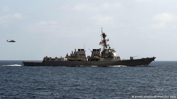 Jemen USS Mason Manöver (picture alliance/AP Photo/U.S. Navy)