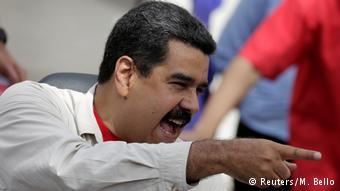 El presidente Nicolas Maduro