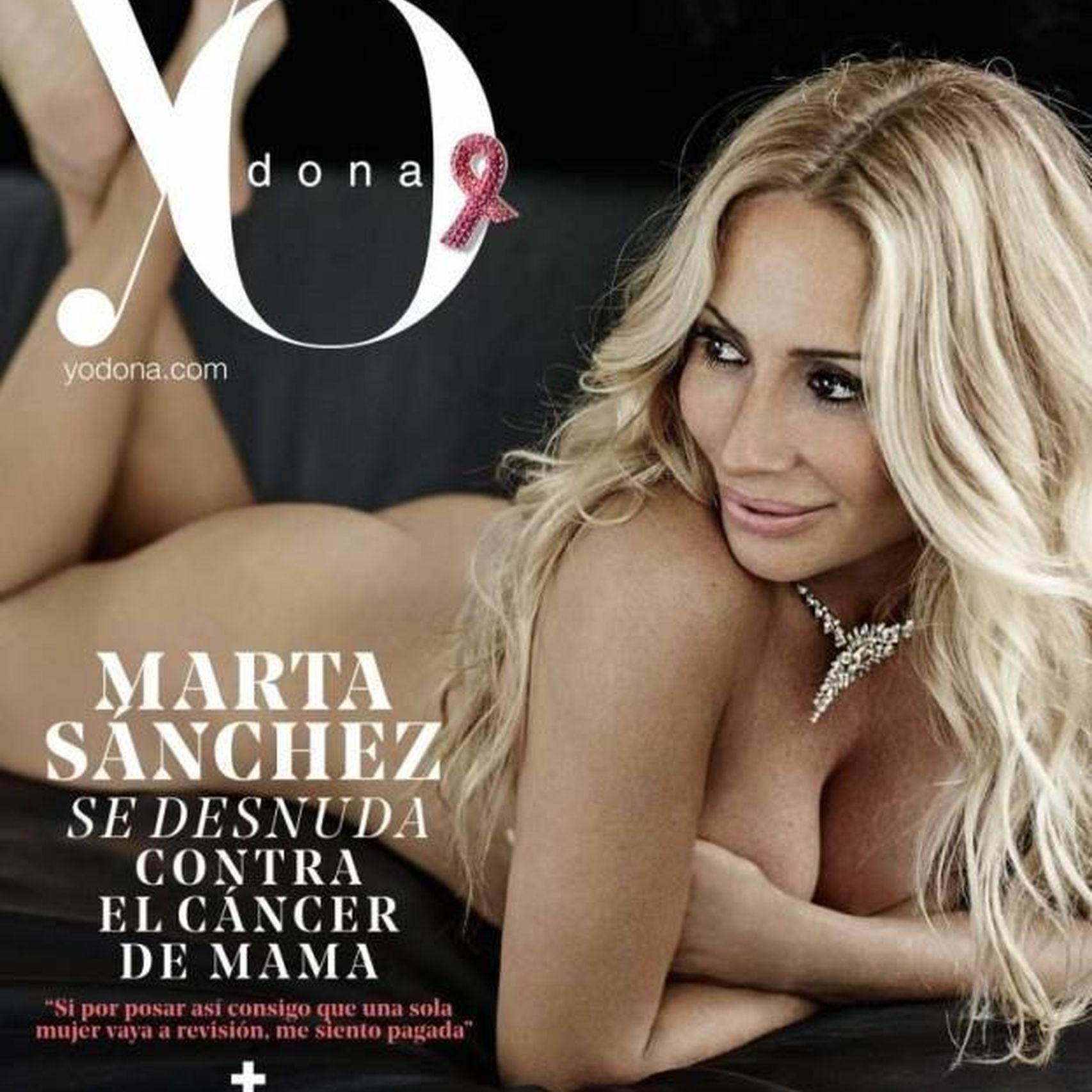 Portada de la revista Yo Dona con Marta Sánchez