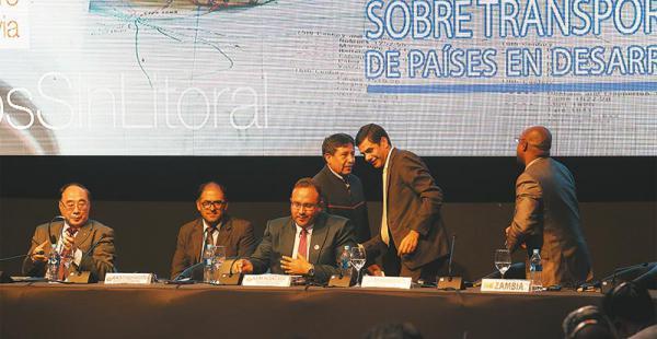 Los países sin salida al mar se reunieron esta semana en Santa Cruz. Ahí surgió el nuevo entredicho