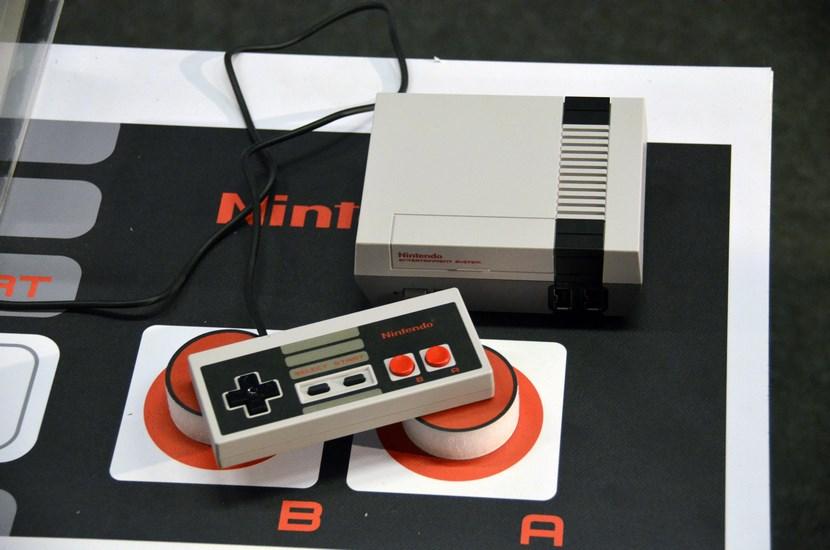 Nintendo Classic Mini desde arriba