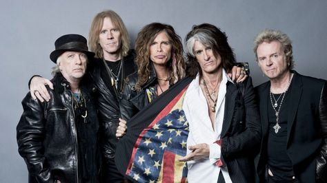 La banda de rock Aerosmith. Foto: TeamRock