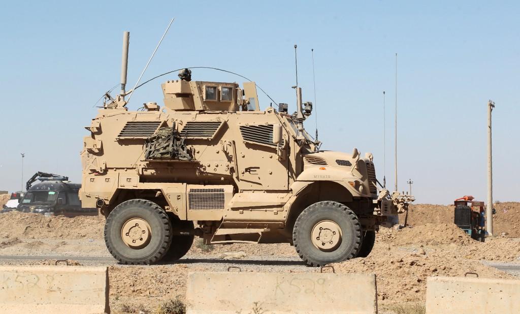 Un vehículo Humvee del Ejército de Irakque enfrentará al Estado Islámico(AFP)