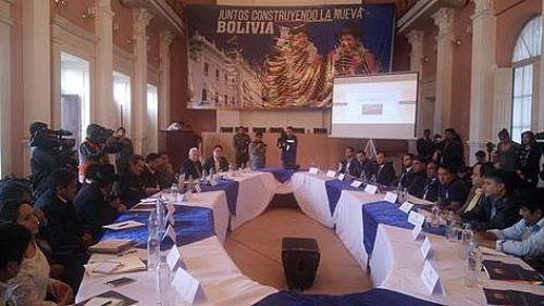 La tercera reunión Ordinaria del Consejo de Coordinación Sectorial de Relaciones Internacionales desarrollada en Sucre.