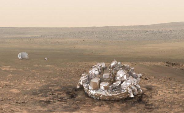 Satélite de la NASA encuentra indicios de Schiaparelli